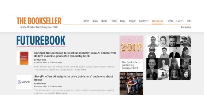 Écran Bookseller