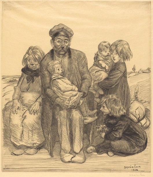 800px-Théophile_Alexandre_Steinlen,_Poor_People_(Les_pauvres_gens),_1914,_NGA_10520